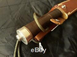 Randall Made Knives Model 7-4(1/2) Fishing Hunting KNIFE Leather 90's 1988-95