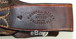 Randall Model 1 All Purpose Fighting Knife 7 Blade 12.5 Fixed Blade Knife Stag
