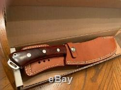 Rare Bark River Pro Series Brush Knife 2014 Custom with Cocobolo wood Red Liners