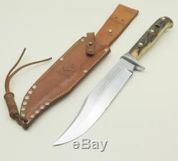 Rare Early Pre 1964 Puma 6396 Original Bowie Solingen Germany Hunting Knife