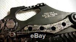 Rare Kershaw 1900UCBLK External Toggle E. T. Camo Knife Design by G&G Hawk Aug 07