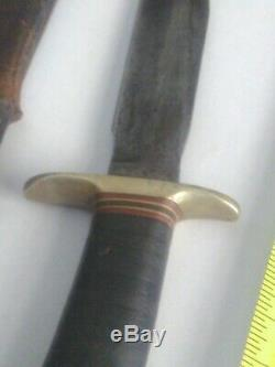 Rare Korean War Era Randall Made Orlando, Fla Vintage Hunting Fighting Knife