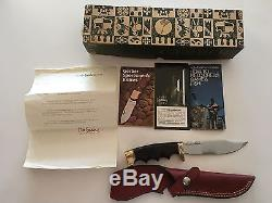 Rare Vintage Gerber Limited Edition fixed blade hunting knife 525S is 1 of 300