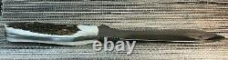 Rare Vintage Puma 118375 New White Hunter Knife Stag Handle German Made in 2001
