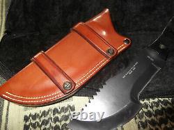 Rare WSK Tracker Survival Knife Red Scorpion Six Blades Custom Holloman Sheath