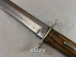 Rare antique Harrison Bros & Howson Sheffield Bowie Stag hunting Knife vintage