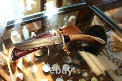 Ray Johnson Custom Damascus Knife