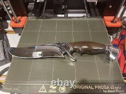 Rod Caribou Chappel Custom Knife Recurve Hunter Fighter Lewis And Clark