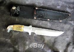Rudy Ruana 6 Hunting Knife withSheath, 1980s