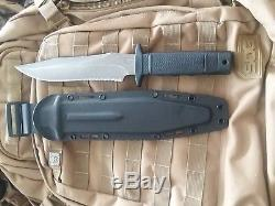 SOG SEKI Tigershark Fixed Blade Knife with Kydex Sheath, Discontinued
