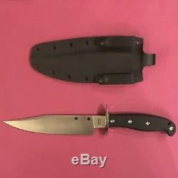 SPYDERCO Respect Bowie Knife CPM 154 Stainless FB44GP with Custom Kydex Sheath