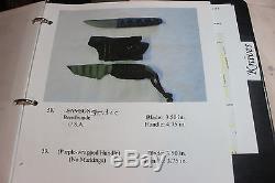 Strider Hunting Knife In Belt Clip Sheath #58