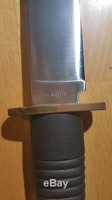 Seki Japan Teton Bowie Hunting Survival Knife