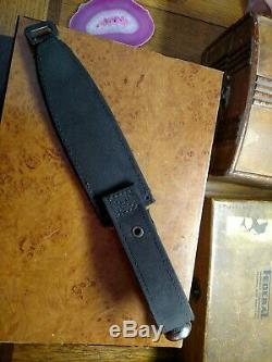 Sog Seki Japan Original Govt Agent 5 Rubberized Handle 6 Fixed Blade Knife