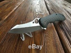 Spyderco Magnitude Liner Lock Flipper Knife Carbon Fiber (3.5 Satin) C212CFP