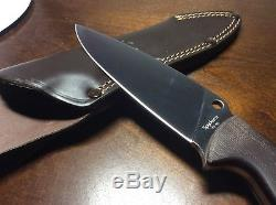 Spyderco Temperance 2 Fixed Blade Knife, Plain Edge with Sheath FB05P2
