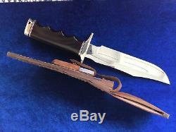 Steve Voorhis Custom Macv-sog Combat Fighting Knife Pristine No Reserve