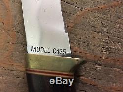 Super Rare Gerber C425 hunting sheath knife designed by Al Mar Beautiful! NR