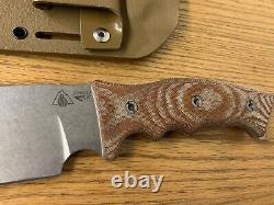 Survive Knives GSO 10 CPM3V Steel Micarta Kydex Sheath SURVIVE! USA