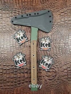 Swamp Rat Knife Works Crash Axe Hawk Busse Kin Discontinued Tomahawk