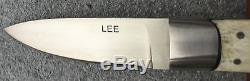 Tommy Lee Custom Stag Handled Hunting Knife