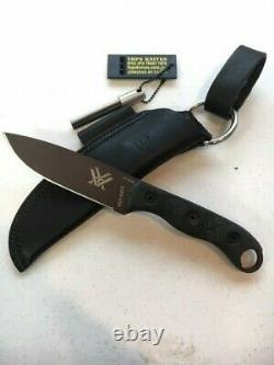 TOPS HOG Knife Vortex Optics Limited Rare Custom Brown Color