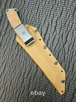 TOPS KNIVES STEEL EAGLE 107D DELTA CLASS With CAMO TANTO BLADE NEVER USED/CARRIED