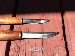 Tommi Puukko Scandi Skinning Hunting Knife Vintage Olavi Kemppainen