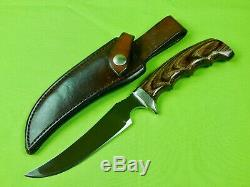 Track Knives Ithacagun Company Model Bob Marshall Skinning Hunting Knife Sheath