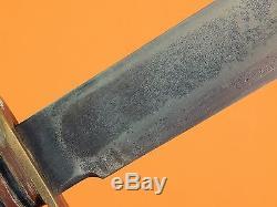 US Vintage Post WW2 1940-50's MARBLES IDEAL Gladstone MI Hunting Knife