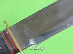 US WW2 Period MARBLES Gladstone IDEAL Hunting Fighting Knife