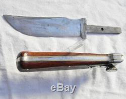 Union Cutlery-rare KA-BAR knife-hatchet hunting set in original sheath 1920-1940