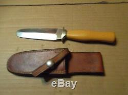 Used Excellent Rare Chase Custom Skinning Knife. Beautiful Handle