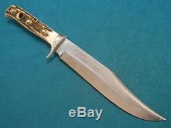 Vintage'71 Puma Solingen Germany 6396 Stag Hunting Skinner Original Bowie Knife