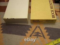 VINTAGE BOXED UNUSED BUCK 106 AXE KNIFE With SHEATH PAPERS, BOX ABOUT MINT