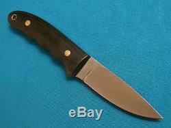 Vintage Custom Lile Drop Point Hunting Skinning Survival Knife Knives Sheath Old