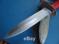 VINTAGE PUMA FROGMAN DIVE KNIFE DAGGER SURVIVAL HUNTING BOWIE FIGHTING With CASE