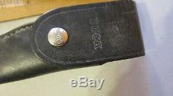 VINTAGE RARE EARLY BUCK KNIFE 121 SERRATED KNIFE WithBUCK INVERTED 1961-1967