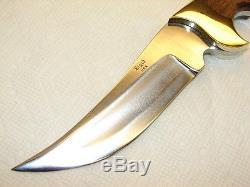 Vintage Rigid Knife, # R-19 Razorback Hunting Knife, Super Rosewood, Nice & Mib