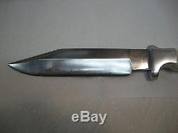 Vintage Ruana Custom 25 Ac Workman Hunting, Fighting Knife, Nice, No Resurve