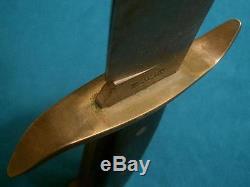 Vintage Western Boulder Bowie W49 V44 Raider Hunting Knife Knives Vietnam Old