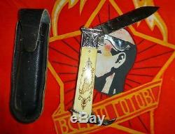 VINTAGE old Russian USSR USSR Hunting Knife Old Collection exc not used 1950s
