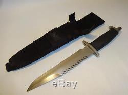 Vtg Gerber Bmf 14.5 L Fixed Blade Hunting Survival Knife ...
