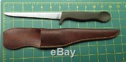 VTG Gerber USA Legendary Blades Armorhide COHO / Trout & Bird Fish Fillet Knife