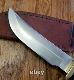 VTG RARE Schrade + USA LTD Woodsman Prospector Pakkawood Knife 165OT 165UH NM