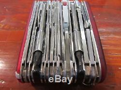 Victorinox 53509 Swiss Army Swisschamp XAVT Pocket Knife/Multi-Tool (20162040)