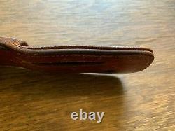 Vietnam Era Knife and Leather Sheath