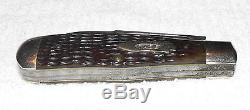 Vintage 1905 -1920 Case Bradford Pa. XX #6237 2 Blade Pocket Knife VG+ NR