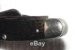 Vintage 1920 -1940 Case Tested XX 3 Blade Folding Pocket Knife VG++ NR