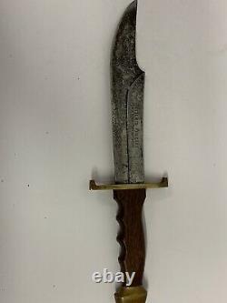 Vintage 1950s Carl Schlieper African Hunter Knife Solingen Germany